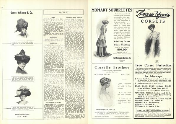 Article Preview: Society, September 18 1909 | Vogue