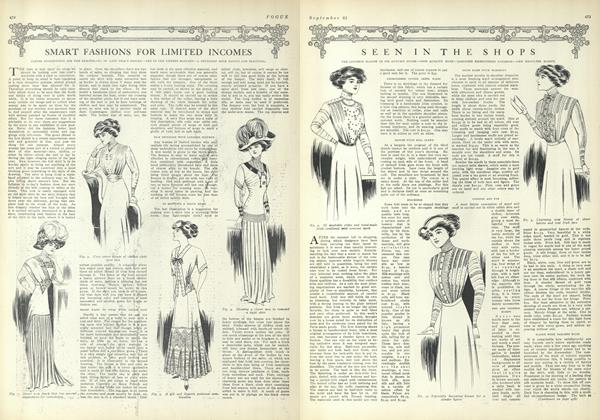 Article Preview: Seen in the Shops, September 25 1909 | Vogue