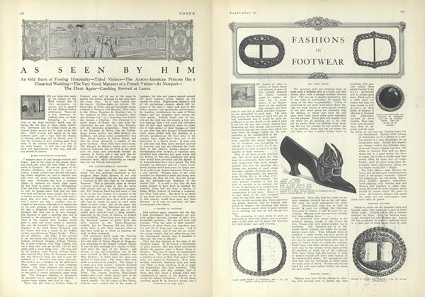 Article Preview: As Seen by Him, September 25 1909 | Vogue