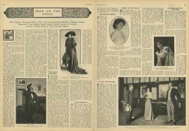 Article Preview: Seen on the Stage, October 2 1909 | Vogue