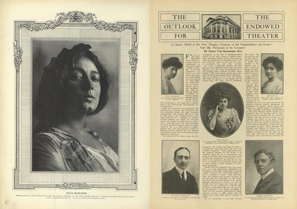 Article Preview: The Outlook got the Endowed Theatre, October 2 1909 | Vogue