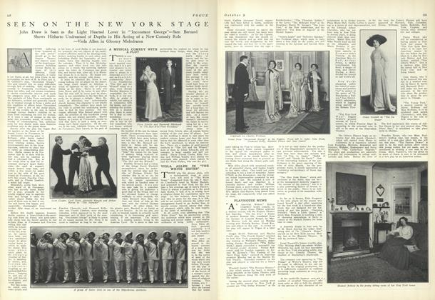 Article Preview: Seen on the New York Stage, October 9 1909 | Vogue