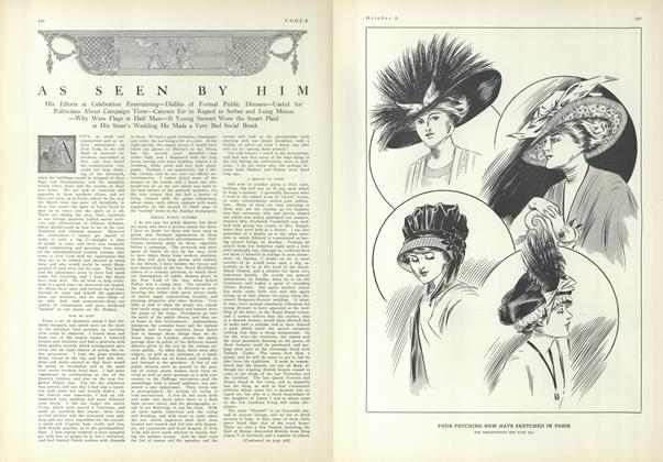 Article Preview: As Seen by Him, October 9 1909 | Vogue