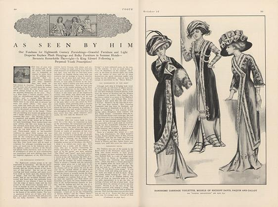 Article Preview: As Seen by Him, October 16 1909 | Vogue