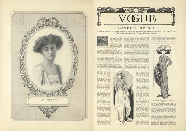 Article Preview: London Gossip, October 23 1909 | Vogue