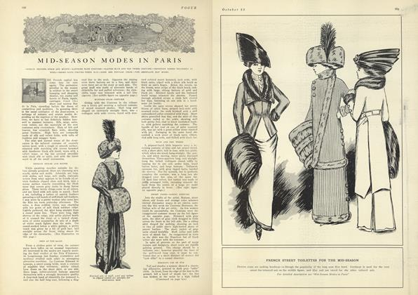 Article Preview: Mid-Season Modes in Paris, October 23 1909 | Vogue