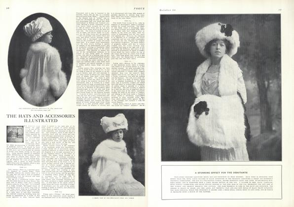 Article Preview: The Hats and Accessories Illustrated, October 30 1909 | Vogue