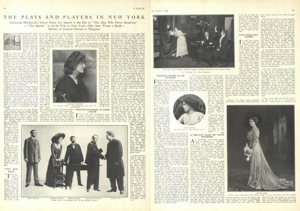 Article Preview: The Plays and Players in New York, October 30 1909 | Vogue