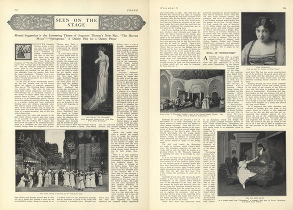 Article Preview: Seen on the Stage, November 6 1909 | Vogue