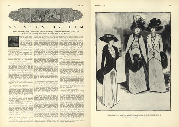 Article Preview: As Seen by Him, November 6 1909 | Vogue