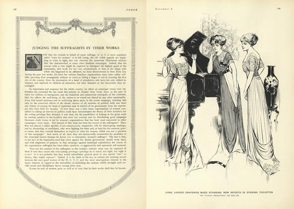 Judging the Suffragists by their Works