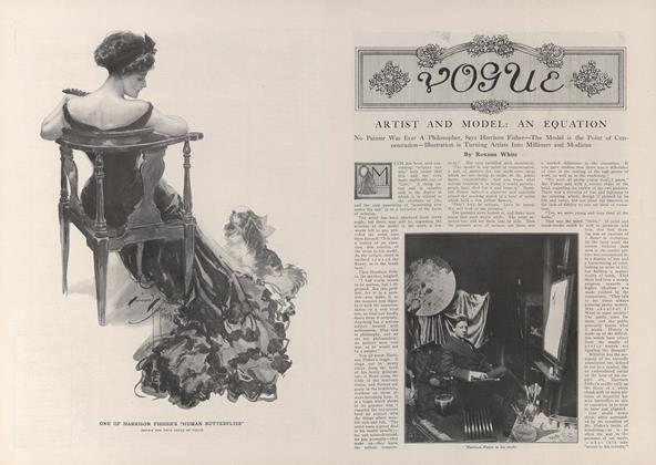 Article Preview: Artist and Model: An Equation, November 13 1909 | Vogue