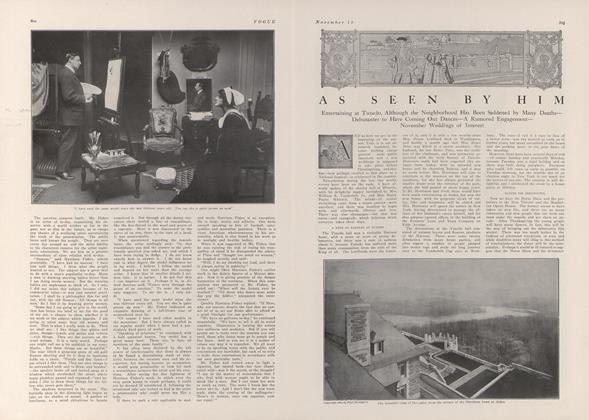 Article Preview: As Seen by Him, November 13 1909 | Vogue