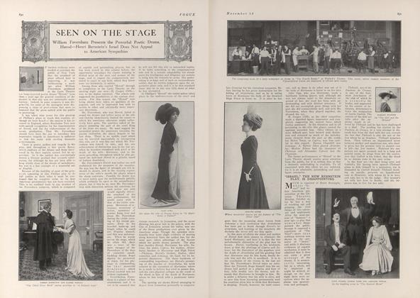 Article Preview: Seen on the Stage, November 13 1909 | Vogue