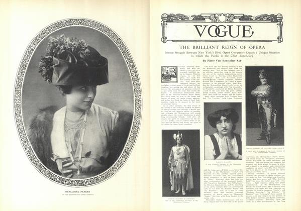 Article Preview: The Brilliant Reign of the Opera, November 20 1909 | Vogue