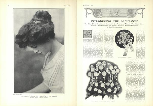 Article Preview: Introducing the Debutante, November 20 1909 | Vogue