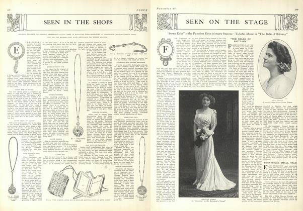 Article Preview: Seen in the Shops, November 27 1909 | Vogue