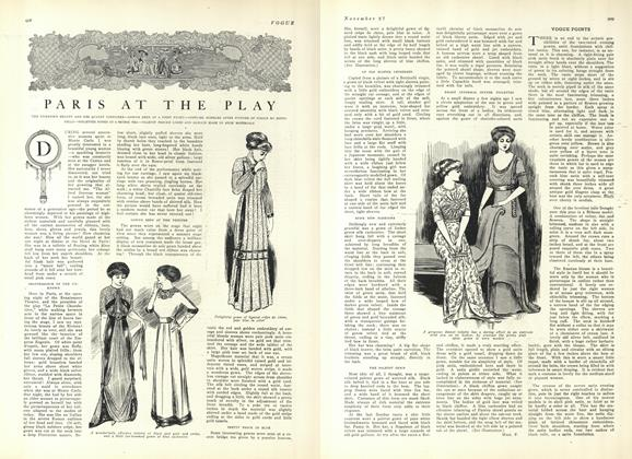 Article Preview: Paris at the Play, November 27 1909 | Vogue