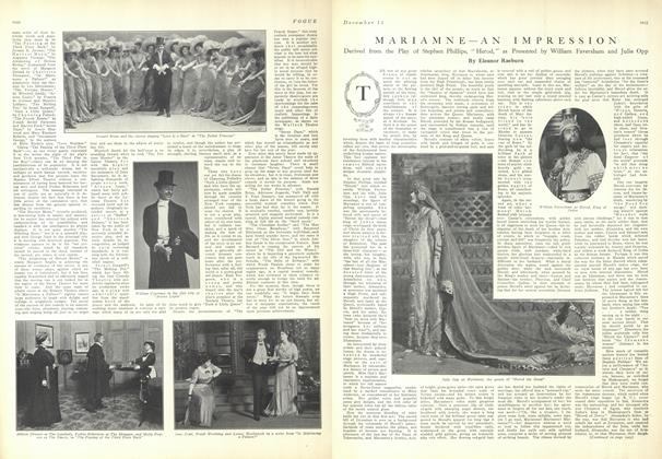 Article Preview: Mariamne: An Impression, December 11 1909 | Vogue