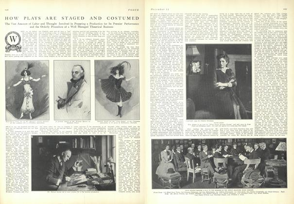 Article Preview: How Plays are Staged and Costumed, December 11 1909 | Vogue