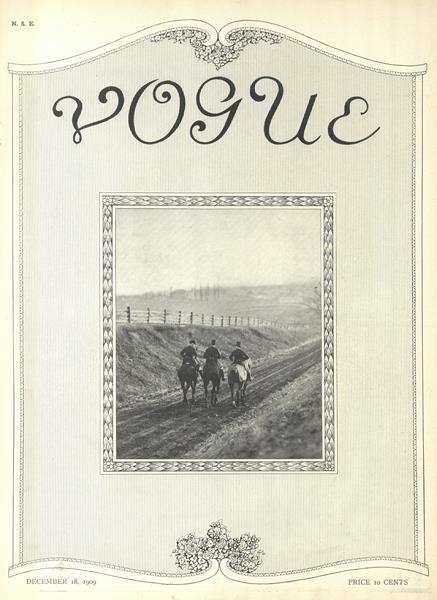 Issue: - December 18 1909 | Vogue