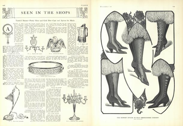 Article Preview: Seen in the Shops, December 18 1909 | Vogue
