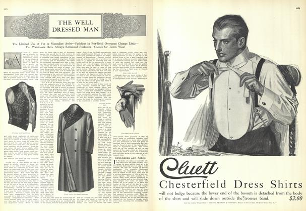 Article Preview: The Well Dressed Man, December 18 1909 | Vogue