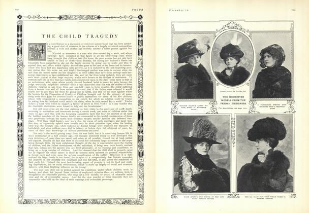 Article Preview: The Child Tragedy, December 18 1909 | Vogue