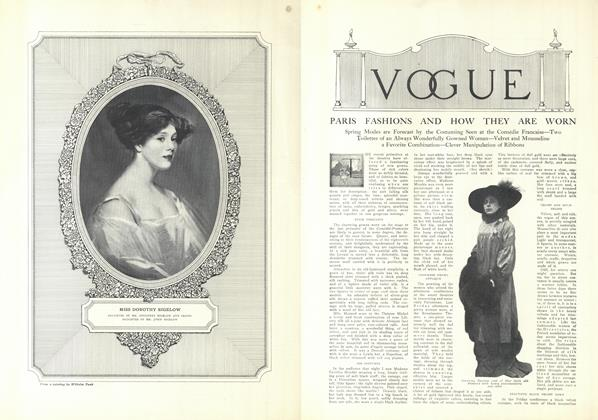 Article Preview: Paris Fashions and How They are Worn, December 25 1909 | Vogue