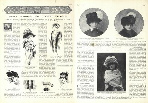 Article Preview: Smart Fashions for Limited Incomes, December 25 1909 | Vogue