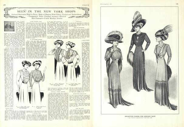 Article Preview: Seen in the New York Shops, December 25 1909 | Vogue