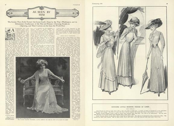 Article Preview: As Seen by Him, January 22 1910 | Vogue