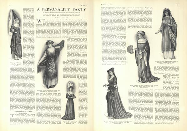 A Personality Party