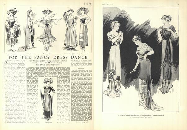For the Fancy Dress Dance