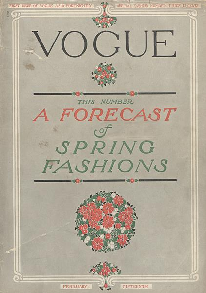 Issue: - February 15 1910 | Vogue