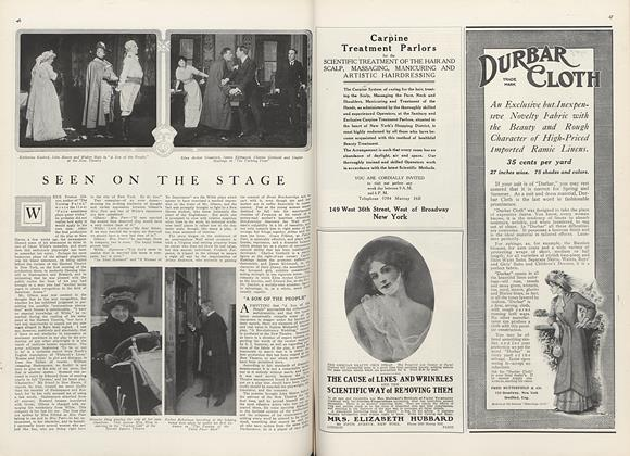 Article Preview: Seen on the Stage, April 1 1910 | Vogue