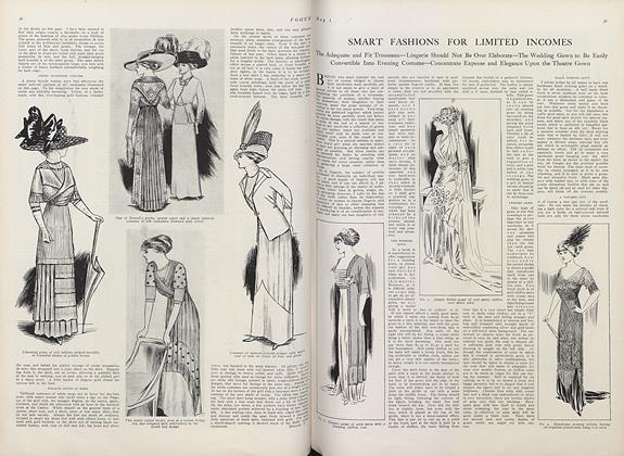 Article Preview: Smart Fashions for Limited Incomes, May 1 1910 | Vogue