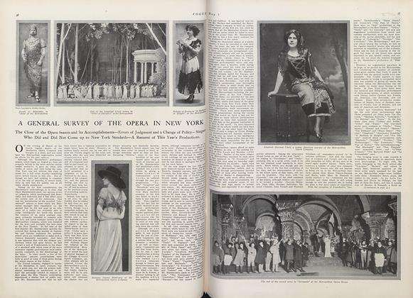 Article Preview: A General Survey of the Opera in New York, May 1 1910 | Vogue