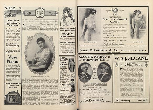 Article Preview: What They Read, May 1 1910 | Vogue
