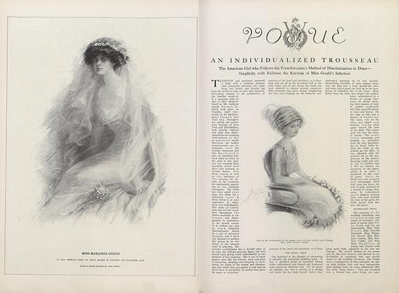 Article Preview: An Individualized Trousseau, May 1 1910 | Vogue