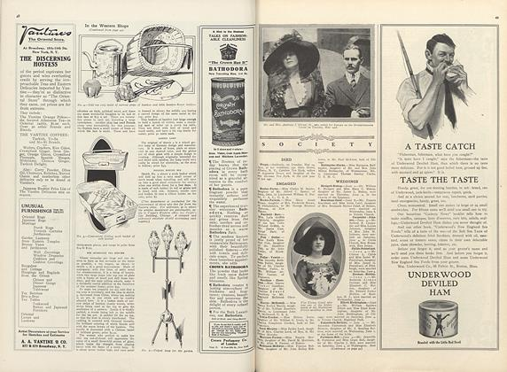 Article Preview: Society, June 15 1910 | Vogue