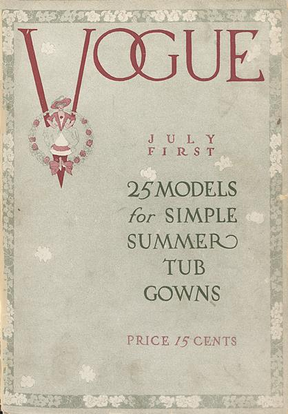 Issue: - July 1 1910 | Vogue