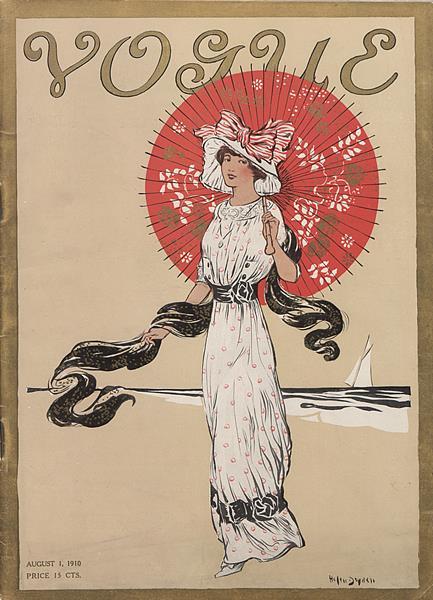 Issue: - August 1 1910   Vogue
