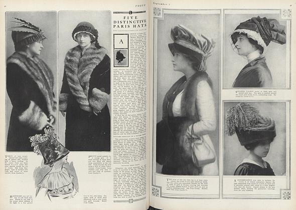 Five Distinctive Paris Hats