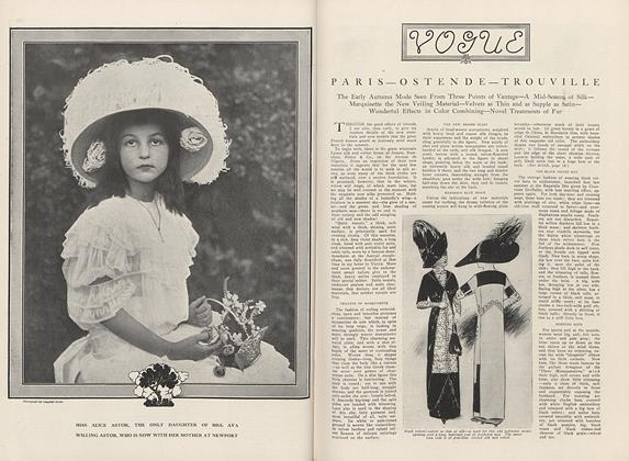Article Preview: Paris—Ostende—Trouville, September 15 1910 | Vogue