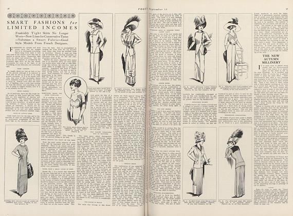 Article Preview: Smart Fashions for Limited Incomes, September 15 1910 | Vogue