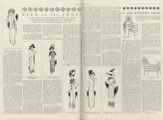Article Preview: In the Western Shops, September 15 1910 | Vogue