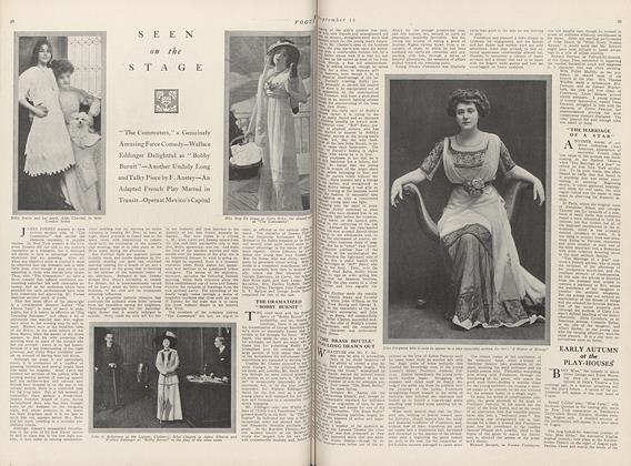Article Preview: Seen on the Stage, September 15 1910 | Vogue