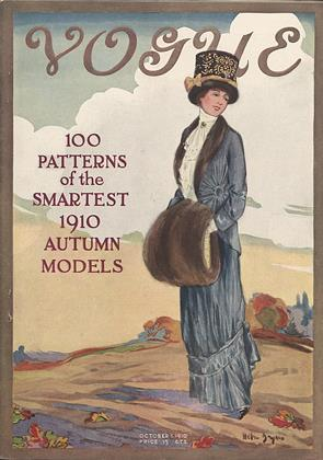 Cover for the October 1 1910 issue