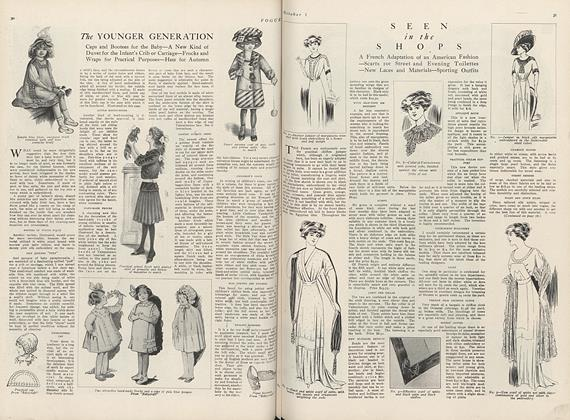 Article Preview: Seen in the Shops, October 1 1910 | Vogue